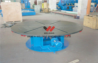 China Welding Turning Table Pipe Welding Positioners For Heavy Duty Loading , Turning / Revolve Table supplier