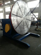 China 10 Ton Pipe Rotary Welding Positioner By VFD control with 5.5kw Tilting Power supplier
