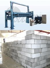 China Cement Autoclaved Aerated Concrete Production Line AAC Block Making Plant supplier