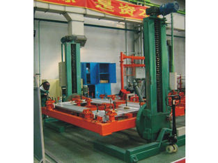 China Double Column Rotary Welding Positioner Working Table Overturning Revolving Synchronous Lifting supplier