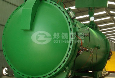 Electric door autoclave