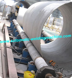 China 20T Automatic Long Axis Conventional Pipe Welding Rotator For Big Tank Or Pipe distributor