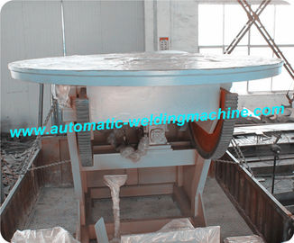China VFD Control Pipe Welding Positioner , Rotary Welding Table , Welding Turning Table factory