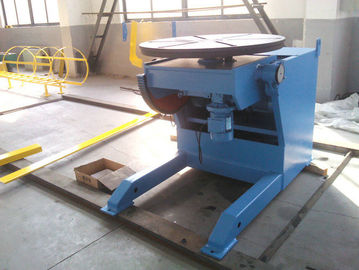China Horizontal Automatic Welding Positioner , 3 Ton Weld Positioner Turing Tables distributor