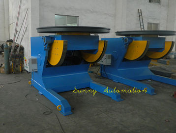 China Heavy Duty Pipe Turning Positioners 15Ton Capacity , 5.5KW UK Motor For Rotation factory