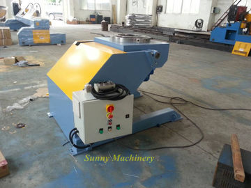 China Small Automatic Welding Positioner For Pipe Welding / 1200mm Table Diameter factory