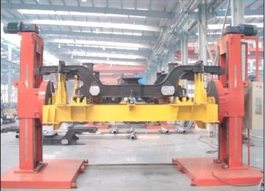 China Synchronous Motor Drive Lifting Double Column Weld Positioner  DWP5 Tons Power Tilting factory