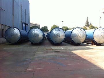 China Glass industry Wood Preservative Treatment , saturated steam Autoclave factory