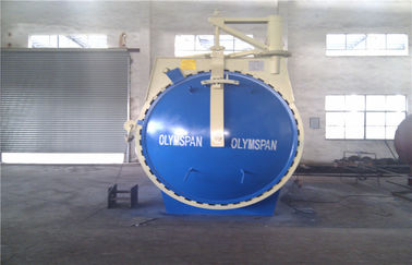 China Safety Rubber / Wood Chemical Autoclave Door For Vulcanizing Industrial ,φ2m factory