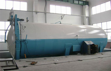 China Rubber / Food Chemical Autoclave Φ2.85m With Safety Interlock , Automatic Control factory