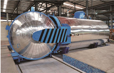China Vulcanizing Laminated Chemical Autoclave Aerated Concrete / Autoclave Machine Φ2m factory