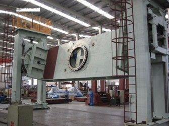 China C Type Double Column Lifting Weld Positioner for being welded or assembled distributor