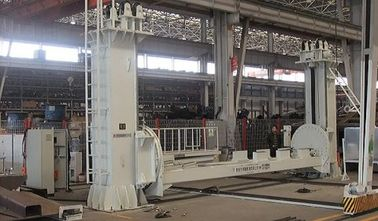 China Loading 20 Tons Two Columns Welding Positioner Big Distance Between Two Fixed Columns factory