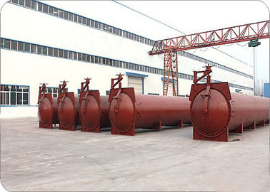 China High Efficiency Light Weight Block Autoclave factory