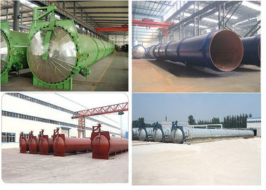 China Low Maintenance Ratio AAC Block Autoclave / AAC Autoclave / Panel Autoclave factory