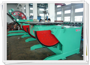 China Batch Production Elbow Welding Positioner With VFD Speed Control factory