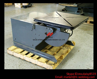 China High Frequency Pipe Welding Positioners 30 Ton Head Tail Welding Turn Table factory