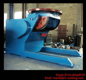 China Pipe or Tank Welding Turning Table / Turning Revolve Table Self Adjustable Type factory
