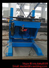 China Custom SHB Lifting Pipe Welding Revolve Table 600kg VFD Rotary Pipe Welding Equipment factory