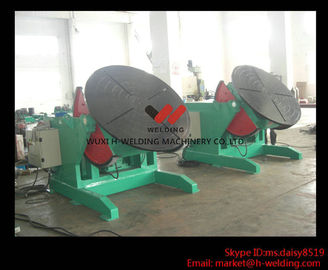 China 5 Ton High Speed Auto Rotary Pipe Welding Turning Table Heavy Duty For Tank / Pipe / Vessel factory