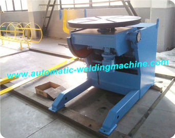 China 0 Degree - 120 Degree Tilting Pipe Welding Positioners With Foot Switch factory